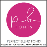 Perfect Blend Fonts: Volume Eleven