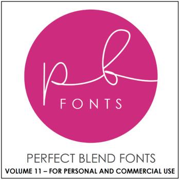 Perfect Blend Fonts: Volume Eleven