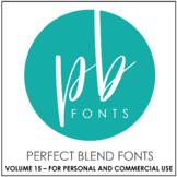 Perfect Blend Fonts: Volume Fifteen
