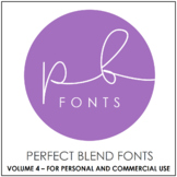 Perfect Blend Fonts: Volume Four