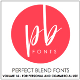 Perfect Blend Fonts: Volume Fourteen