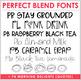 Perfect Blend Fonts: Volume Fourteen