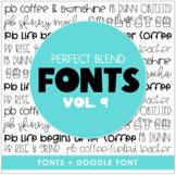 Perfect Blend Fonts: Volume Nine