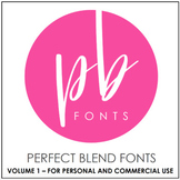Perfect Blend Fonts: Volume One