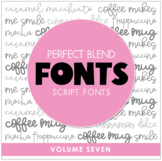 Perfect Blend Fonts: Volume Seven