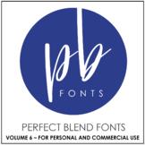 Perfect Blend Fonts: Volume Six