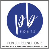 Perfect Blend Fonts: Volume Six