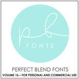 Perfect Blend Fonts: Volume Sixteen