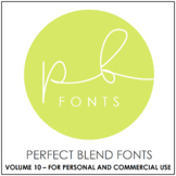 Perfect Blend Fonts: Volume Ten