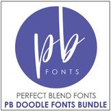 Perfect Blend Fonts: Doodle Fonts