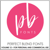 Perfect Blend Fonts: Volume Twelve