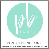 Perfect Blend Fonts: Volume Two
