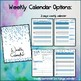 Perfect Counselor Planner Binder - 2017-2018 Blue Dots Theme