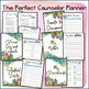 Perfect Counselor Planner Binder - 2017-2018 Magic Florals Theme