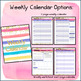 Perfect Counselor Planner Binder - 2017-2018 Striped Gold Theme