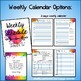 Perfect Counselor Planner Binder - 2018-2019 Colorful Life Theme