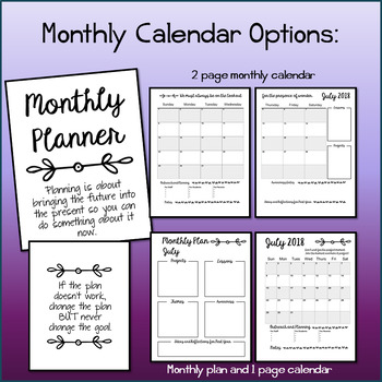 Perfect Counselor Planner Binder - 2018-2019 Variety Pack