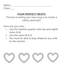 Perfect Four: B-A-G Recorder composition
