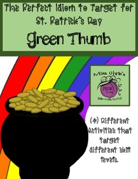 Perfect IDIOM for St. Patrick's Day FREE - FREE
