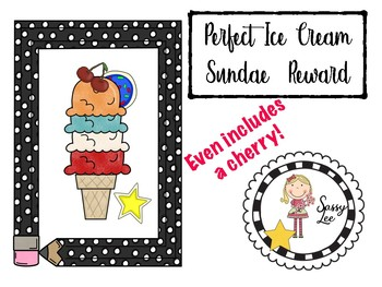 Perfect Ice Cream Sundae and other treats