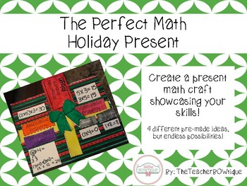 Perfect Math  Holiday Present