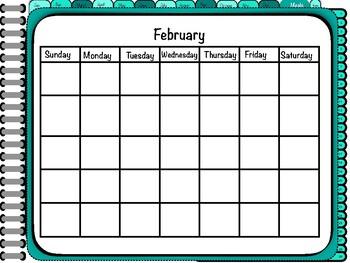 Perfect Mix- Digital Planner SAMPLE FEBRUARY