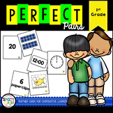 Perfect Pairs Partner Cards {1st Grade}