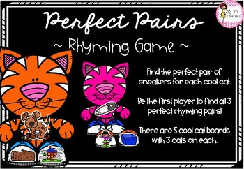 Perfect Pairs Rhyming Game