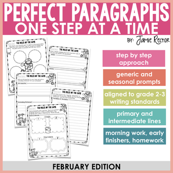 Perfect Paragraphs One Step at a Time: February Edition