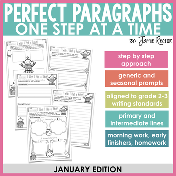 Perfect Paragraphs One Step at a Time: January Edition