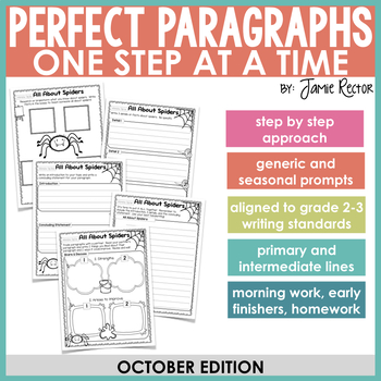 Perfect Paragraphs One Step at a Time: October Edition