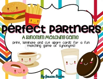 Perfect Partners- a synonym matching game