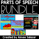 Plural Nouns, Irregular Verbs, & Collective Nouns BUNDLE
