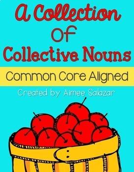 Plural Nouns, Irregular Verbs, & Collective Nouns BUNDLE