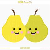 Perfect Pear Digital Clipart Freebie
