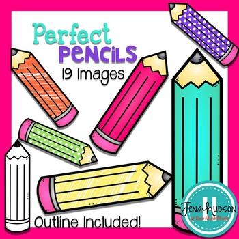 Perfect Pencils Clipart