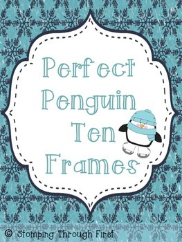 Perfect Penguin Ten Frames
