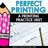 Perfect Penmanship: A Printing Practice Unit