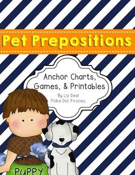 Prepositions {Anchor Charts, Games & Printables}