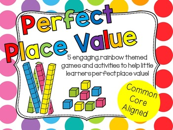Perfect Place Value: Center Activities