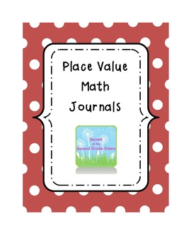 Perfect Place Value Math Journals