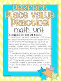 Perfect Place value Practice Unit-Giant Unit to teach place value concepts 1-100