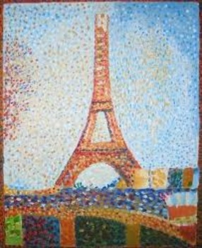 perfect pointillism art project by mrs hedley and for kids books