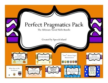 Perfect Pragmatics Pack: The Ultimate Social Skills Bundle