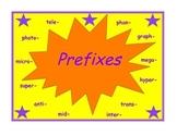 Prefix Practice Packet