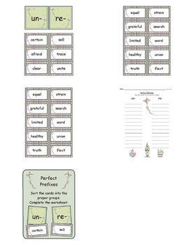 Perfect Prefixes
