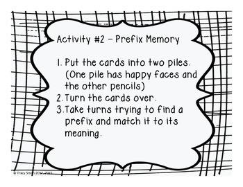 Perfect Prefixes!  Common Core Aligned 2.RF.3, 3.RF.3