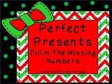 Perfect Presents- Fill In The Missing Number