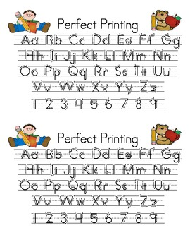 Perfect Printing Reference Card Freebie!