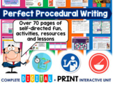 Perfect Procedural Writing Unit (Self Directed Digital Mod